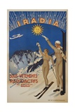 Iradia Poster Giclee Print