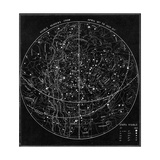 Illustration of the Constellations Giclee Print