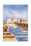 Egypt for Romance Poster Giclee Print