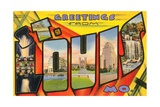Greetings from St. Louis, Missouri Giclee Print