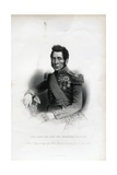 Lieutenant General Sir John Fox Burgoyne Engraving Giclee Print