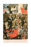 Ferdinand I, King of Bulgaria Entering Seized Turkish Territory Giclee Print