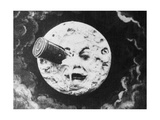 Moon Face from a Trip to the Moon Stampa giclée
