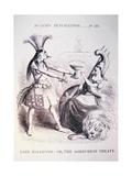 Fair Rosamond; Or, the Ashburton Treaty Magazine Illustration Giclee Print