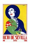 Hijo De Sevilla (Son of Seville) Poster Giclee Print