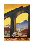 Soviet Armenia Poster Giclée-Druck