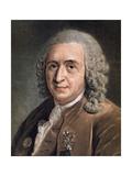 Portrait of Charles Linnaeus Giclee Print