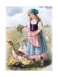 The Goose Girl Giclee Print