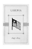 Liberian Flag Giclee Print