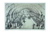 Lithograph of the Coronation of General Faustin Soulouque as Emperor of Haiti Giclee Print