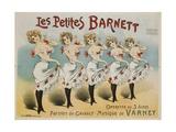 Les Petites Barnett Poster Giclee Print