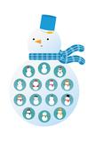 Bonhomme de neige Reproduction procédé giclée