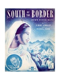South of the Border Giclee Print