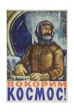Lets Conquer Space! Poster Reproduction procédé giclée
