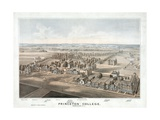 Lithograph of Princeton College Giclee Print