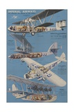 Imperial Airways Poster Giclee Print
