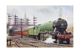 Flying Scotsman Steam Locomotive Giclee Print