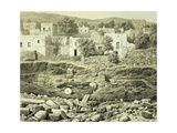 Lithograph of Excavations at the North Side of Quadrangle Giclee Print