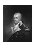 Portrait Engraving of General Henry Lee Giclee Print