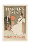 Harper's Bazar Midsummer Number Poster Giclee Print