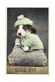 Good-Bye Postcard Giclee Print