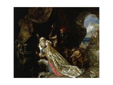 King Lear and Cordeliaby Edward Matthew Ward Giclee Print