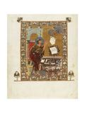 Saint Luke Evangelist from the Ostromir Gospels Giclee Print