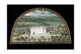 View of Villa La Magia Giclee Print