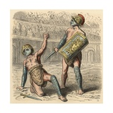 Roman Gladiators Giclee Print
