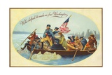 Who Helped to Make Us Free Washington Postcard Giclee Print