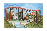 Greetings from Tennessee Giclee Print