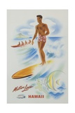 Matson Lines Hawaii Poster Giclee Print