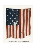 The Star Spangled Banner Flag Giclee Print
