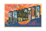 Greetings from Jamaica, Long Island, New York Giclee Print