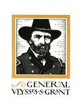 Portrait of General Ulysses S. Grant Giclee Print