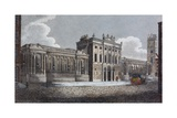 Threadneedle Street Front of the Bank of England Giclee Print