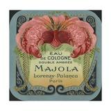 Majola Perfume Label Giclee Print