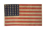 Thirty-Six Star American Flag Giclee Print