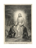 Joseph Smith and Oliver Cowdery Receiving the Aaronic Priesthood Giclee Print