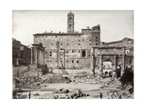 The Roman Forum - Late 19th Century Photograph Giclee Print