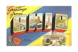 Greetings from Ohio Giclee Print