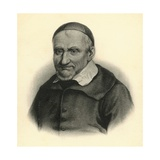 Portrait of Saint-Vincent De Paul Giclee Print
