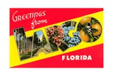Greetings from Largo, Florida Giclee Print