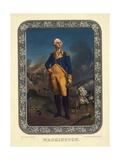 Standing Portrait of George Washington Giclee Print