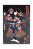 Ichikawa Danjuro Viii in the Role of Kaja Yoshitaka Giclee Print