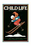 Magazine Cover, Child Life Giclee Print