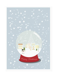 The Snowball with the Snow Around Giclee Print