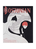 The Bostonian Original American Literary Poster Giclee Print