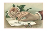 George Hanna, Ladies' and Gents' Fine Shoes Trade Card Giclee Print