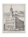 Joseph Smith's Original Temple Giclée-tryk
